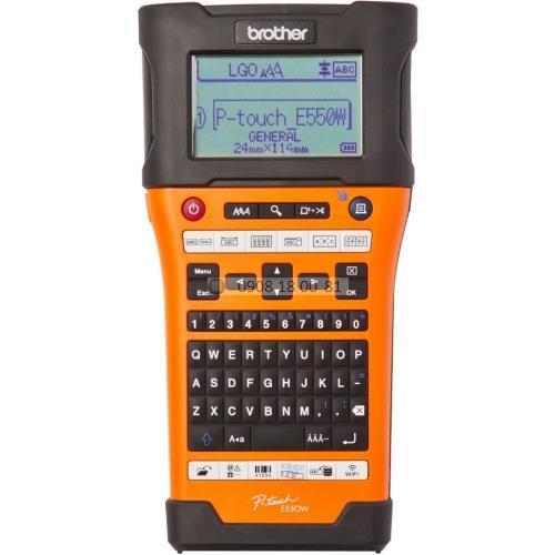 Máy in nhãn cầm tay Wifi Brother PT-E550W