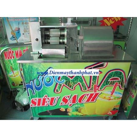 Máy ép nước mía VT-03 (Liền bàn không tủ kính)
