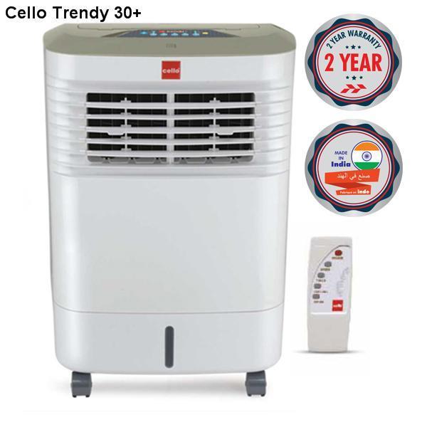 Quạt điều hòa không khí Air Cooler CELLO Trendy 30 +