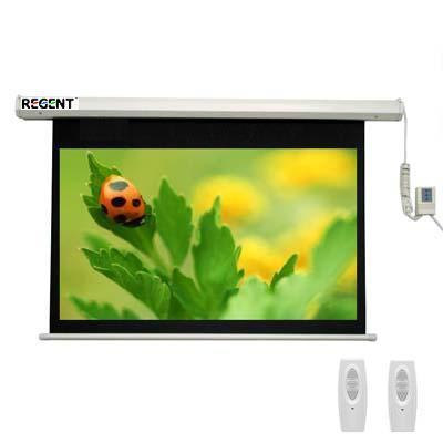 Màn chiếu điện điều khiển từ xa Regent 120 x 90 inch(150 inch)