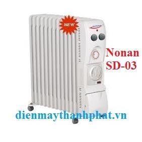 Máy sưởi dầu Nonan SD-03