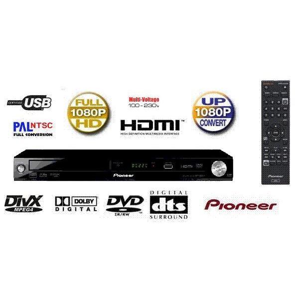 Đầu DVD PIONEER DV-3022KV