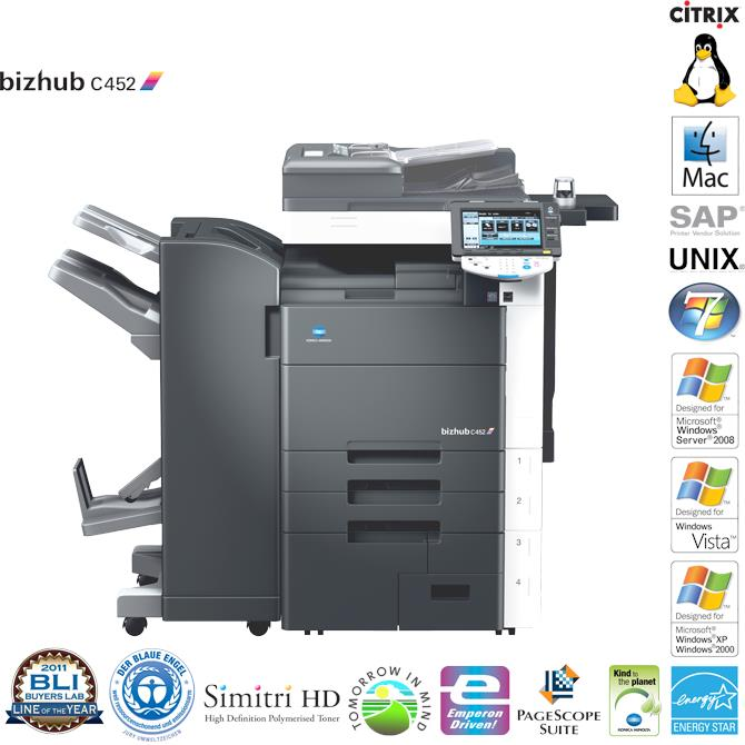 Máy photocopy Konica Minolta Bizhub-C452