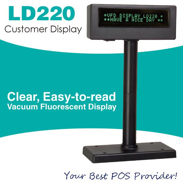 Màn hình hiển thị giá LD 220