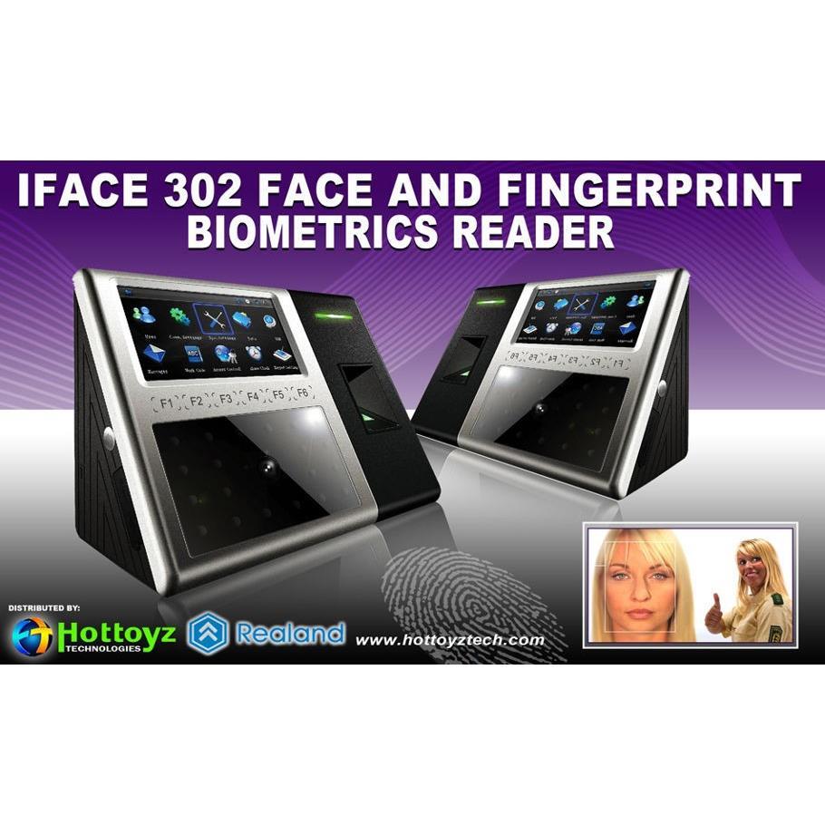 Máy chấm công Khuôn mặt và vân tay IFACE 302