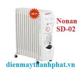 Máy sưởi dầu Nonan SD-02