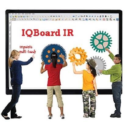 Bảng tương tác IQboard IR  92 inch 4 người dùng