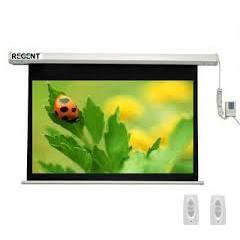 Màn chiếu điện điều khiển Regent 160 x 120inch( 200 inch )