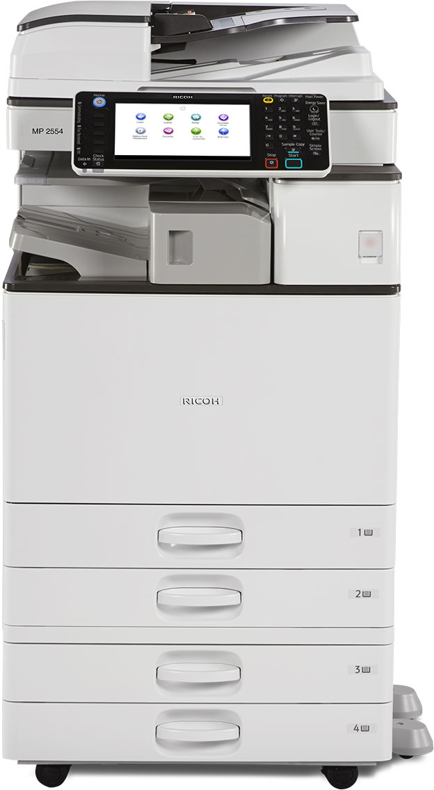 Máy Photocopy Kỹ thuật số Ricoh Aficio MP 3554