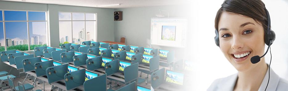 Hệ thống phòng học Mutilmedia Lab Jcom 5500