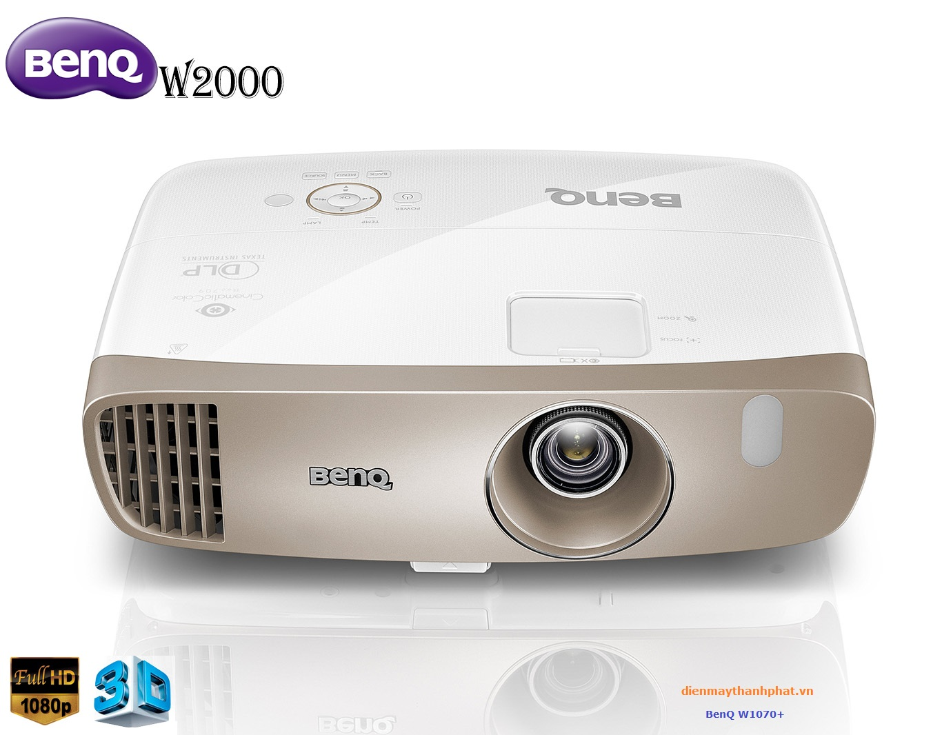 Máy chiếu BenQ W1070+