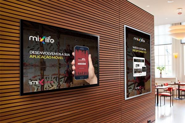 Màn hình quảng cáo treo tường LG SM3B