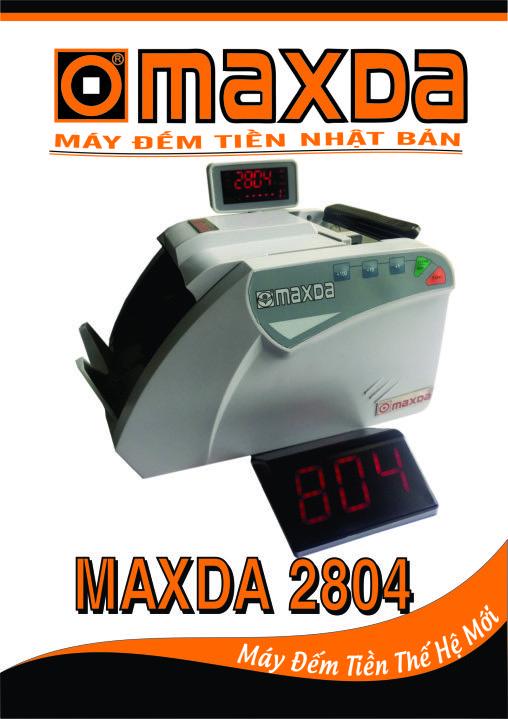 Máy đếm tiền Maxda 2804