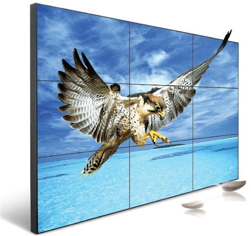 Màn hình ghép Samsung 55 inch viền ghép