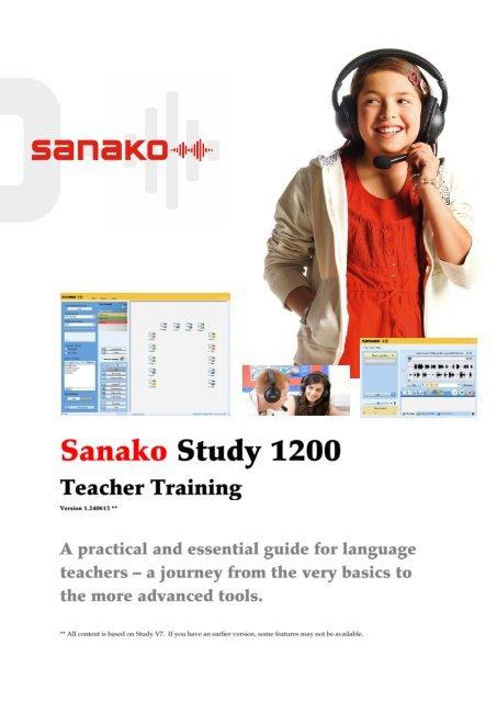 Môi trường học ngoại ngữ đa phương tiện Sanako Study 1200