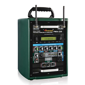 Thiết bị âm thanh di động không dây Vicboss PWA 220
