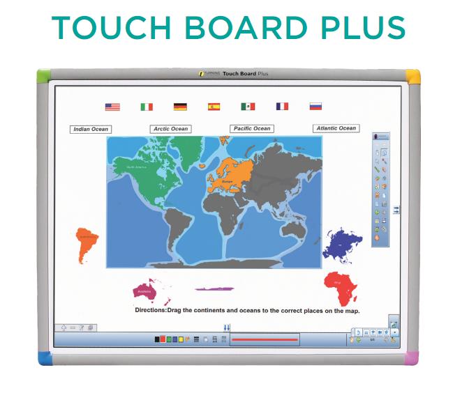 Bảng Tương Tác Einstruction Touch Board Plus TTTB1078