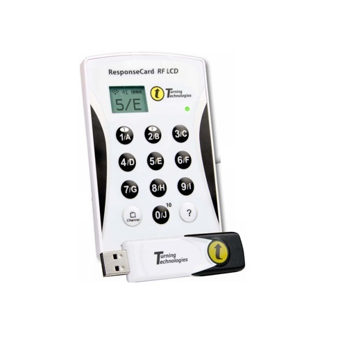 Bộ trả lời câu hỏi ResponseCard RF-LCD