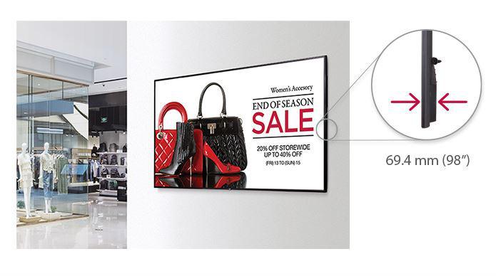 Màn hình quảng cáo treo tường LG SE3KE