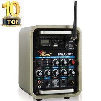 Thiết bị âm thanh di động không dây Vicboss PWA-103