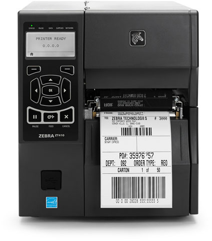 barcode printer zebra zt410