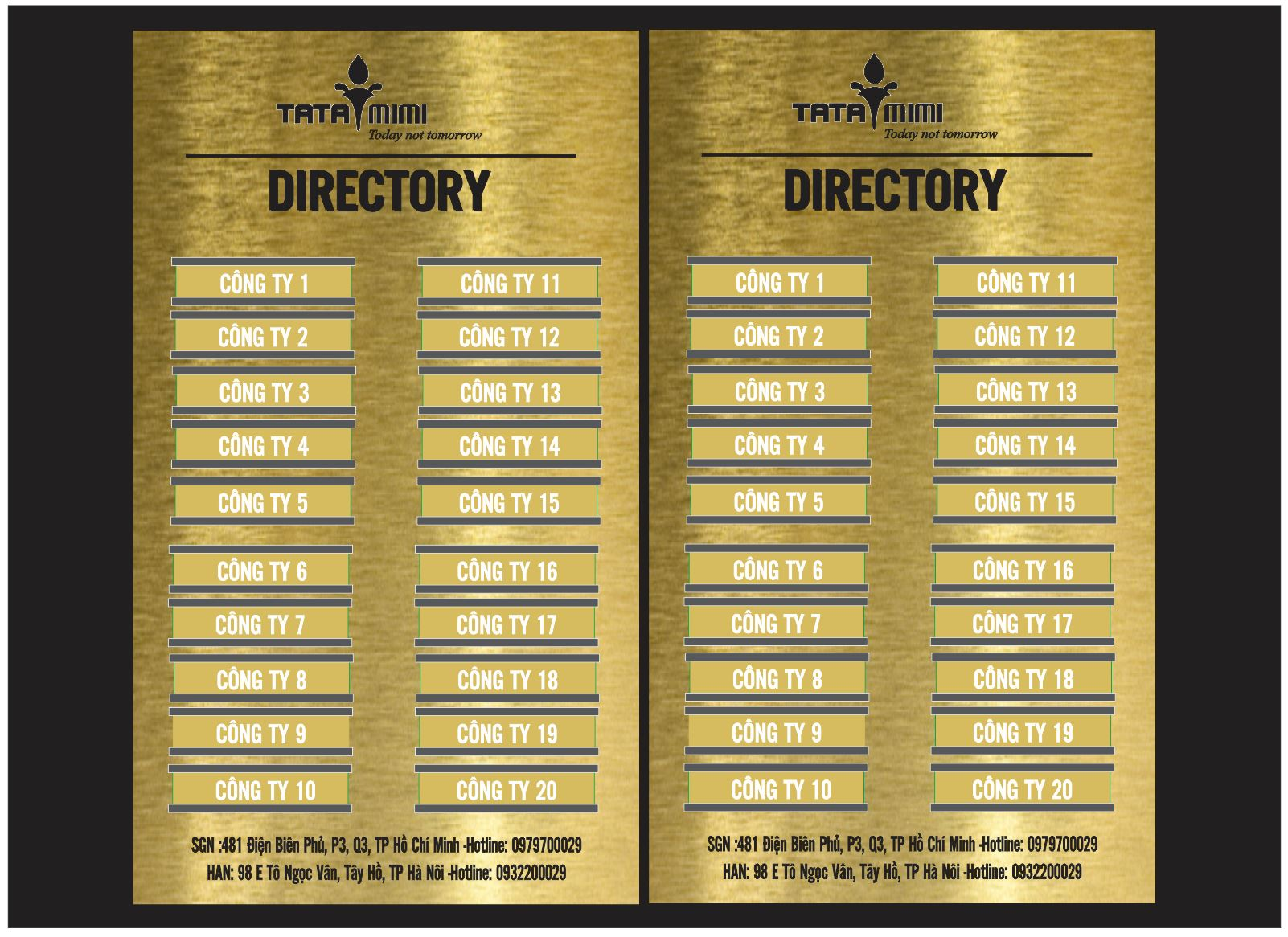 Biển sơ đồ tòa nhà ,Biển Directory Inox