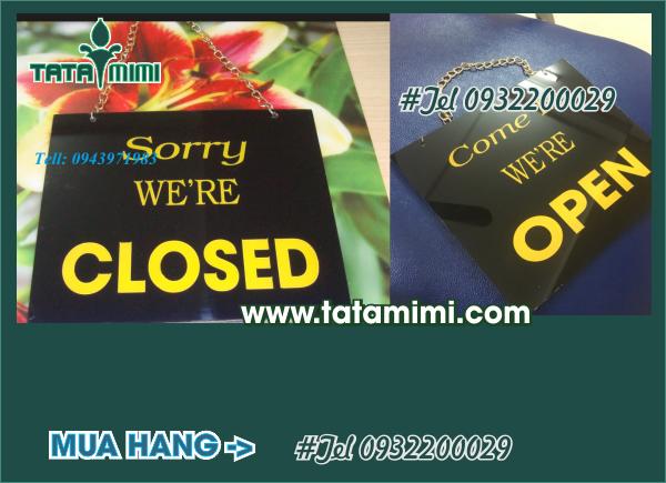 Biển open closed