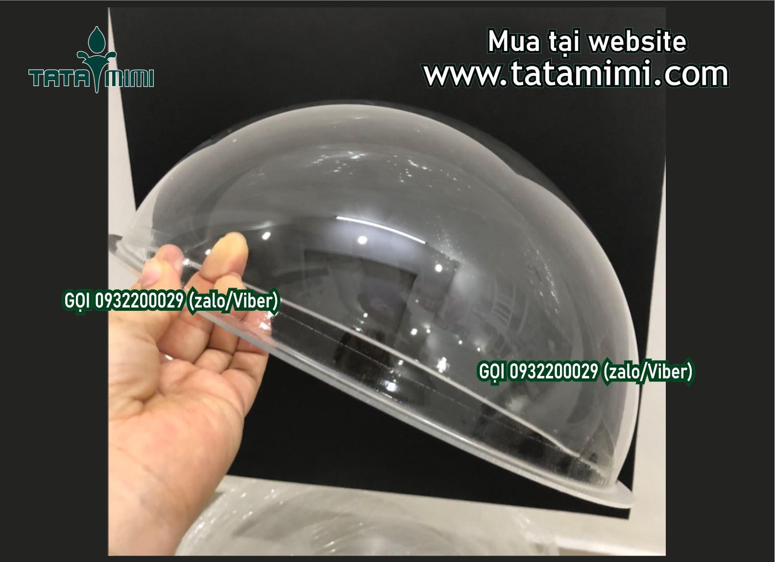 Hút nổi mica trong đường kính 60cm