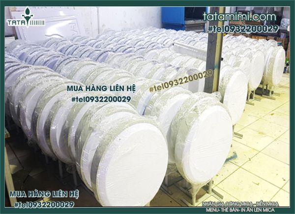 Biển Hút nổi Trắng sữa Tròn 56 cm