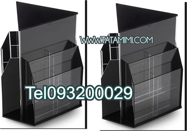 Kệ Mica 3 mặt 25x15 Cm