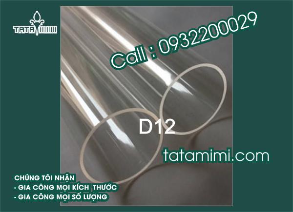 Mica ống D12MM
