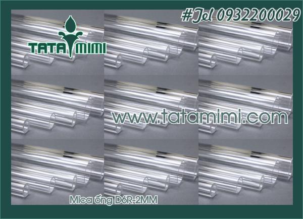 Ống mica Đường kính Rỗng 6mm-R1MM