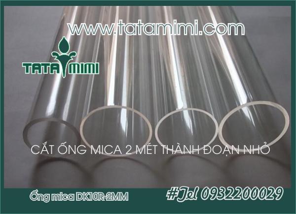 Mica ống 10mm Dày 2mm