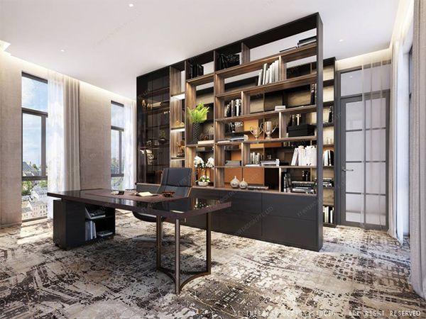 Đòi hỏi về thẩm mỹ thiết kế nội thất văn phòng chuyên nghiệp Thi-cong-thiet-ke-noi-that-van-phong-lam-viec-chuyen-nghiep-9