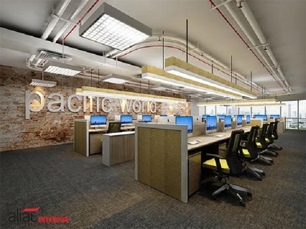 Dịch vụ thi công nội thất văn phòng uy tín tại TPHCM