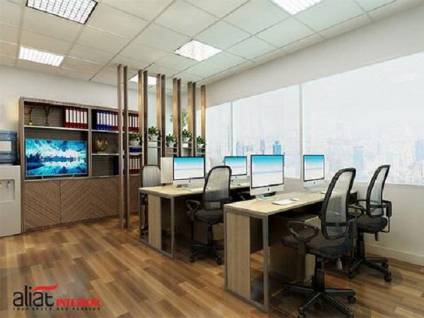 Lợi ích khi chọn dịch vụ thi công nội thất văn phòng trọn gói