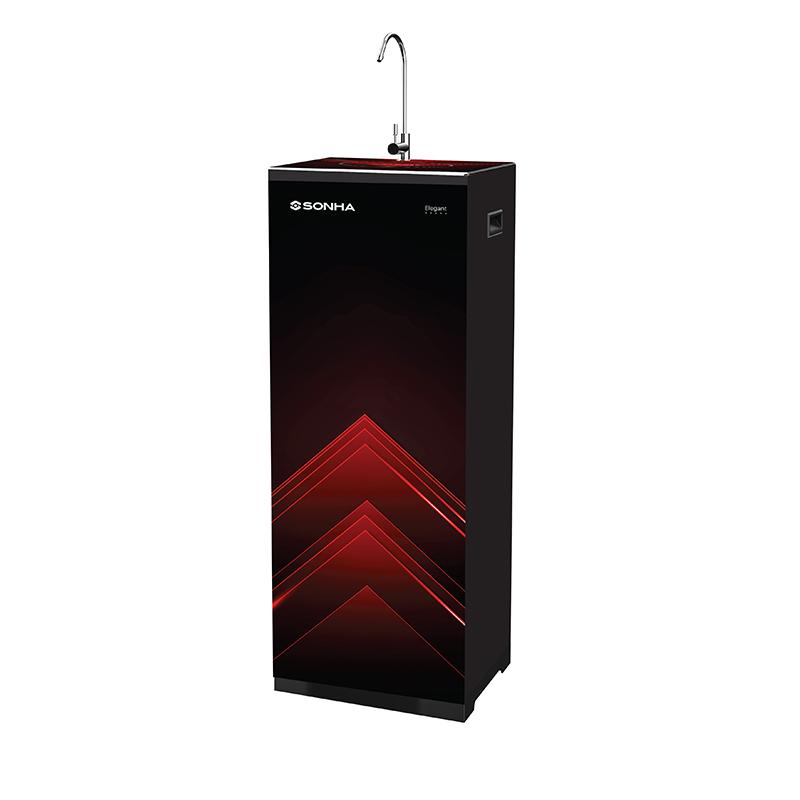Máy lọc nước RO Sơn Hà Elegant 10 cấp lọc màu đen đỏ