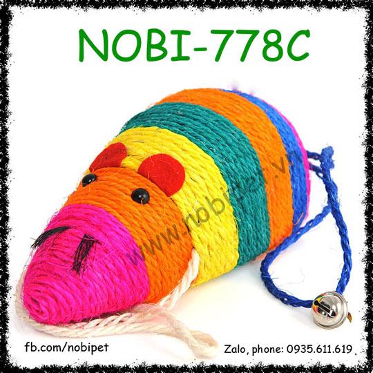 Chuột Sumo Cho Mèo Cào Móng Đùa Nghịch Nobi-778C