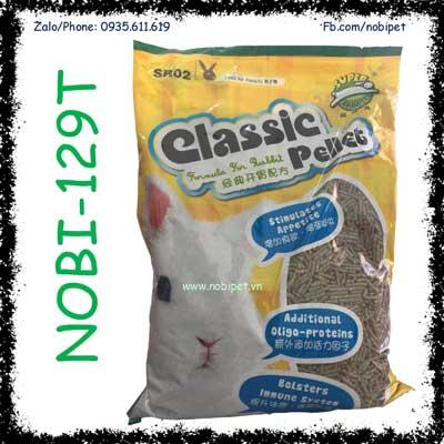 Classic Pellet 2,5kg Thức Ăn Cỏ Nén Cho Thỏ Con và Bọ Ú NOBI-129T