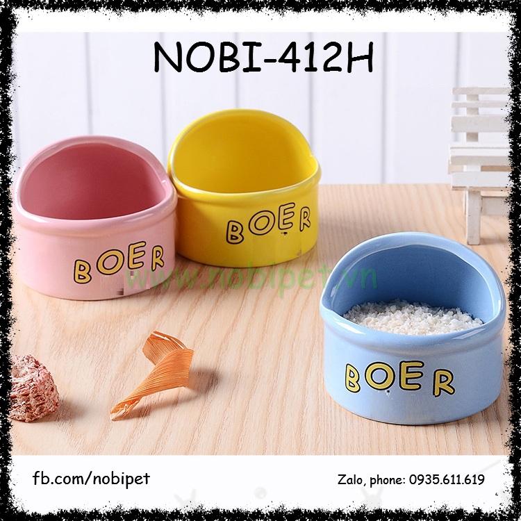 Chén Ăn Sứ Boing Cho Chuột Hamster Nobi-412H