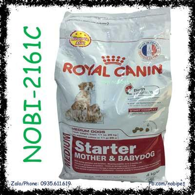 Royal Canin Medium Starter M&B 4kg Cho Chó Mẹ Con NOBI-2161C