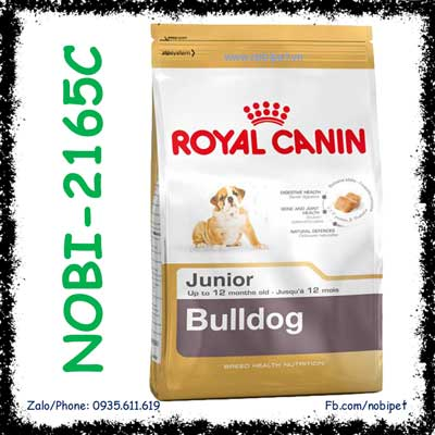 Royal Canin BullDog Junior 3Kg Thức Ăn Cho Chó Bulldog Dưới 12 Tháng