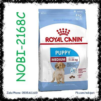 Royal Canin Medium Puppy 4kg Thức Ăn Cho Chó Size Trung Dưới 12 Tháng