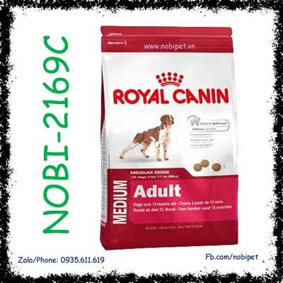 Royal Canin Medium Adult 4kg Thức Ăn Cho Chó Size Trung Trên 12 Tháng