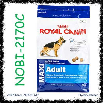 Royal Canin Shn Maxi Adult 4Kg Thức Ăn Cho Chó Trên 15 Tháng