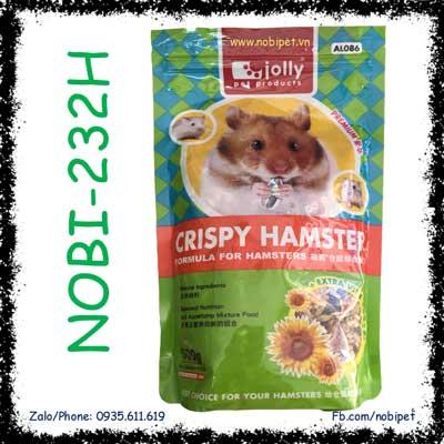 Crispy Hamster 500g Thức Ăn Dinh Dưỡng Cho Chuột Hamster NOBI-232H