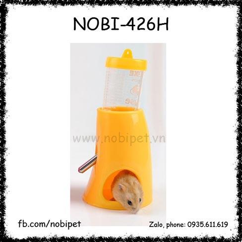 Bộ Bình Nước Uống 80ml Và Đế 2 Trong 1 Nuôi Nhím Kiểng Nobi-426H