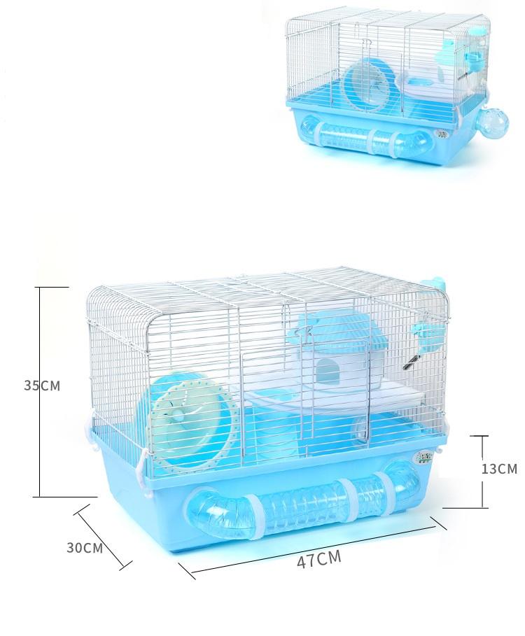 Lồng HEDGEHOG cỡ lớn dành cho Hamster Bear và Nhím Kiểng NOBI034H
