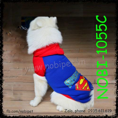 Áo Bigboy Cho Chó Lớn Thời Trang Thu Đông Nobi-1055C