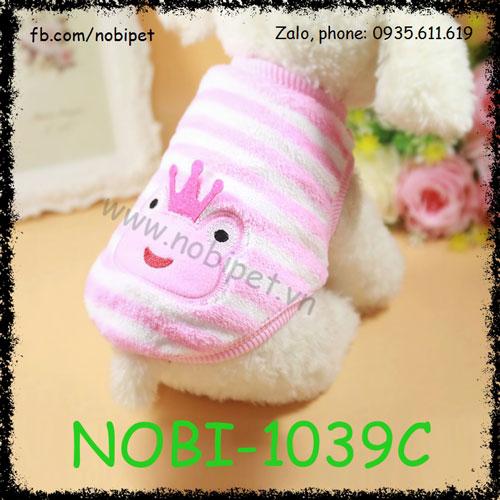 Áo Bông Frog Thu Đông Cho Chó Thời Trang Nobi-1039C